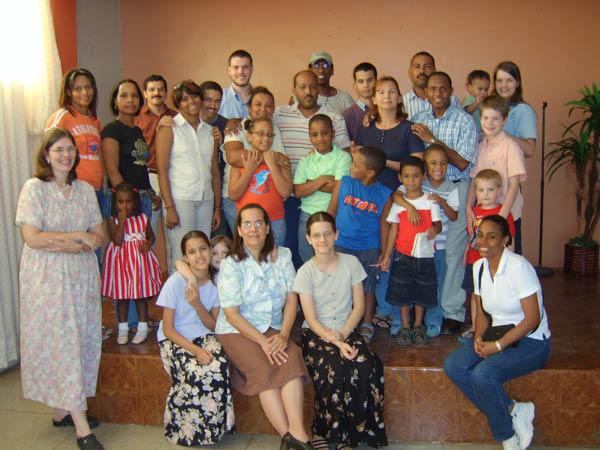 Dominican Republic People. The Dominican homeschool
